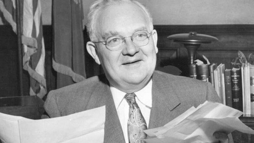 Born in Poway, Fletcher Bowron went on to become mayor of Los Angeles.