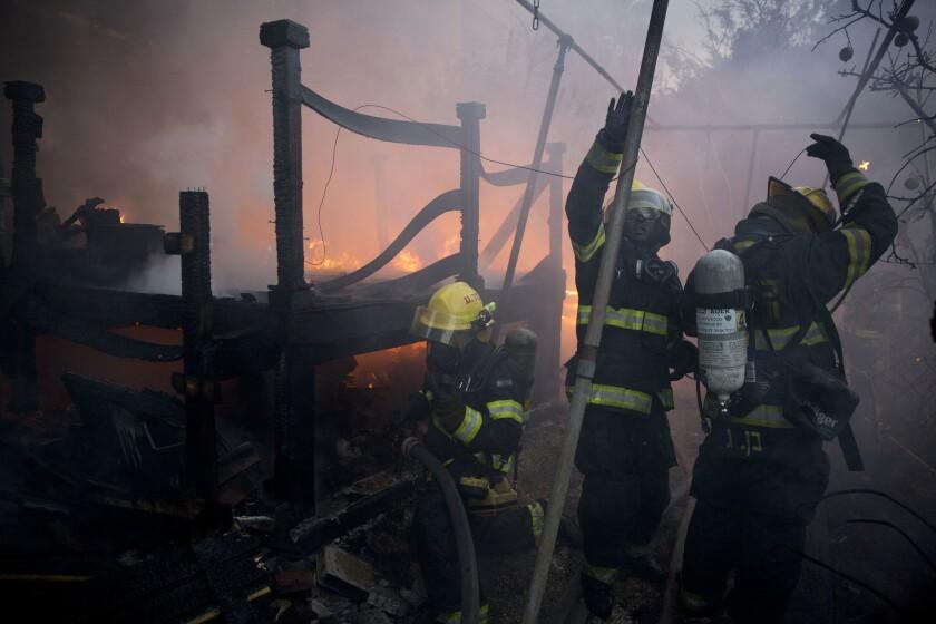Israel wildfire