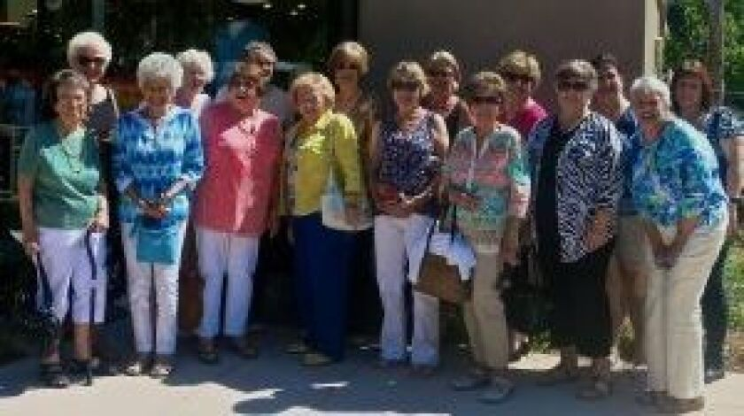 Some of the members of San Vicente Valley Club.
