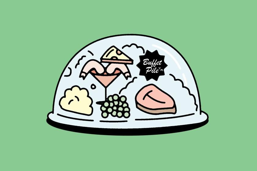 Buffet pile