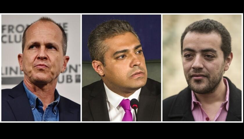 Journalists sentenced in Egypt