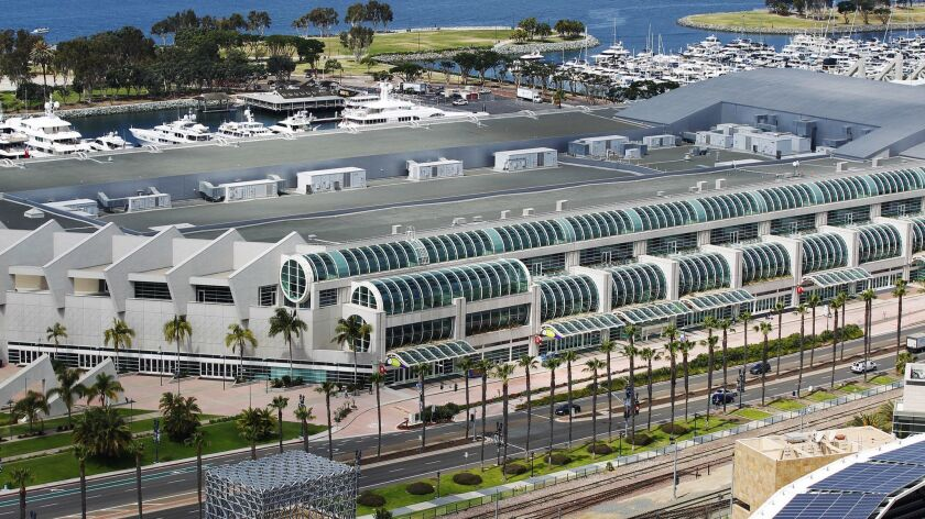 An initiative that would have raised San Diego's hotel tax to underwrite the expansion of the San Diego's Convention Center does not have enough signatures to make the November ballot. Backers are still awaiting word on whether it can qualify for a future ballot.