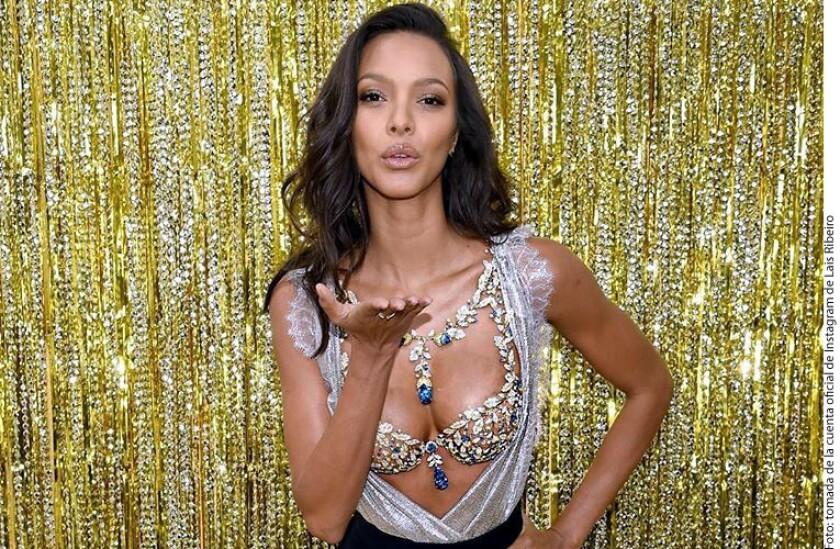 """Lais Ribeiro reveló que vestirá el """"Champagne Nights Fantasy Bra"""" en el Victoria's Secret Fashion Show, que se realizará este 28 de noviembre en Shanghai."""
