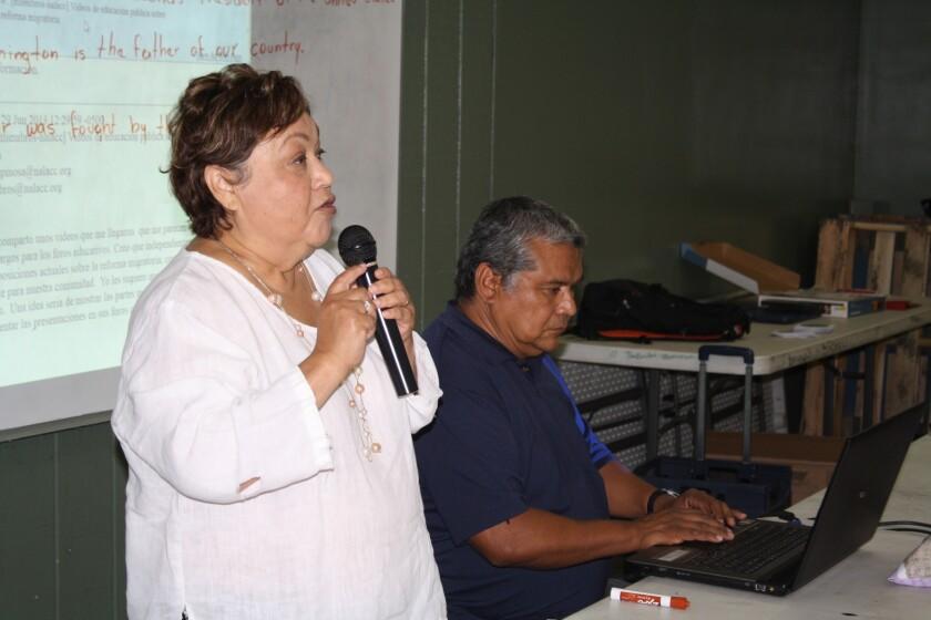 Gloria Saucedo es directora de Hermandad Mexicana.