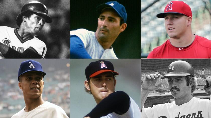 Dodgers, Angels greats