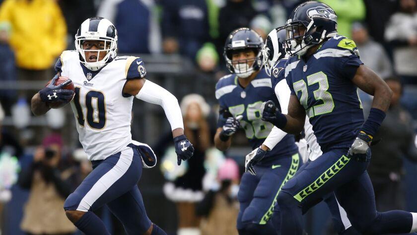 Los Angeles Rams v Seattle Seahawks