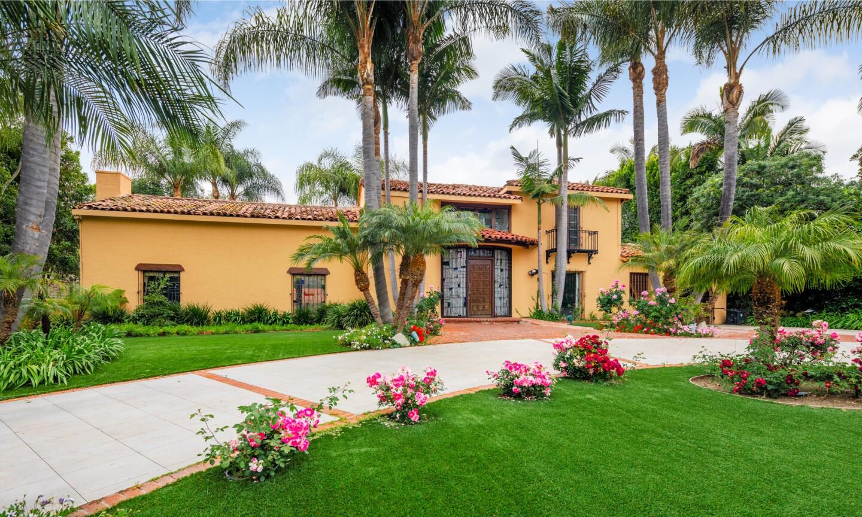 Elaine Stewart and Merrill Heatter's Beverly Hills home