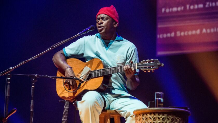 Seu Jorge performs Saturday at the Theatre at Ace Hotel.