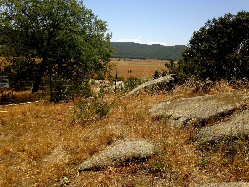 View of some of the property near Hellhole Canyon Preserve eyed for acquisition