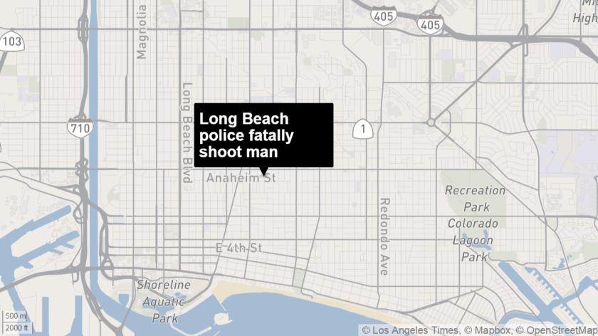 Long Beach police fatally shot man