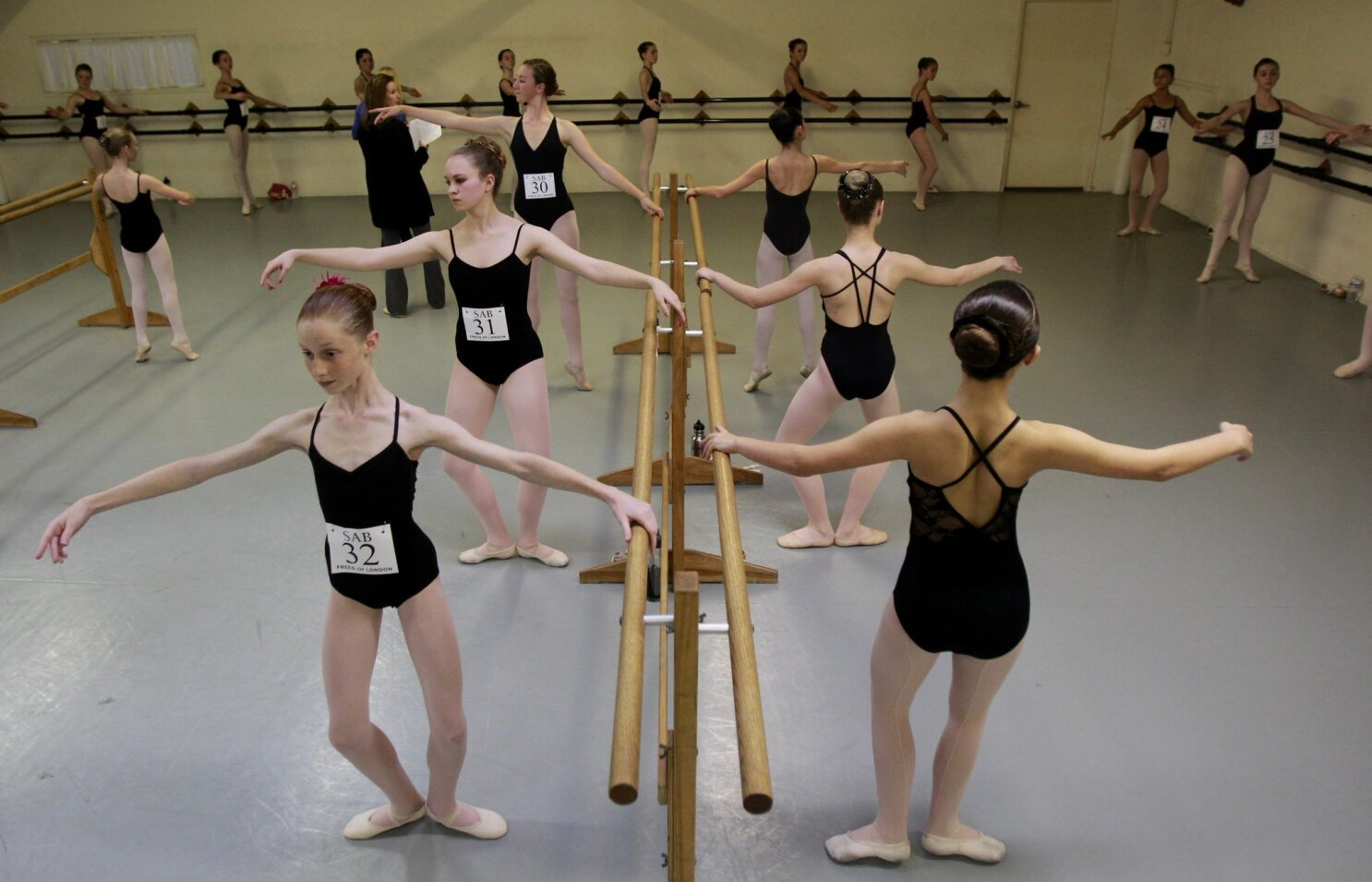 Dancers audition for New York City program - The San Diego