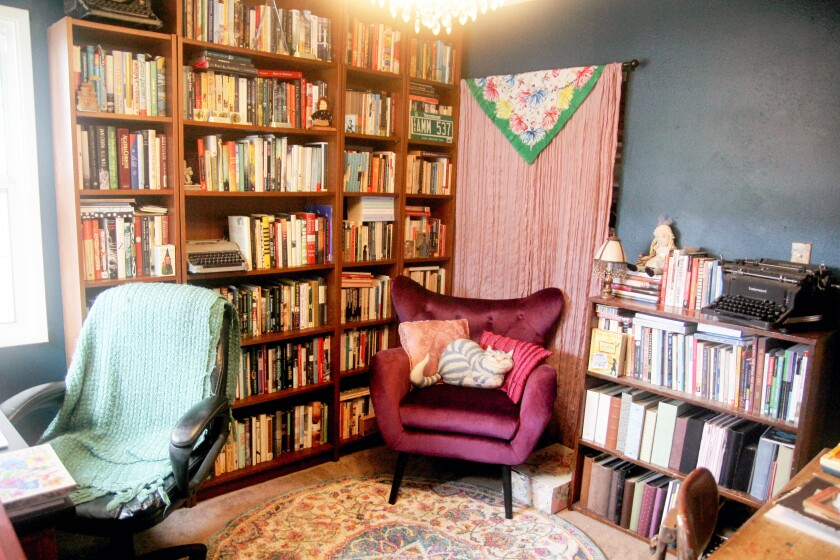 Author Tammy Greenwood's home office.