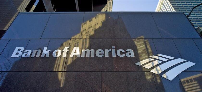 Bank of America, la segunda entidad bancaria del país, anunció hoy que el año pasado tuvo unos beneficios netos de 17.906 millones de dólares, los más altos desde 2006. EFE/ARCHIVO