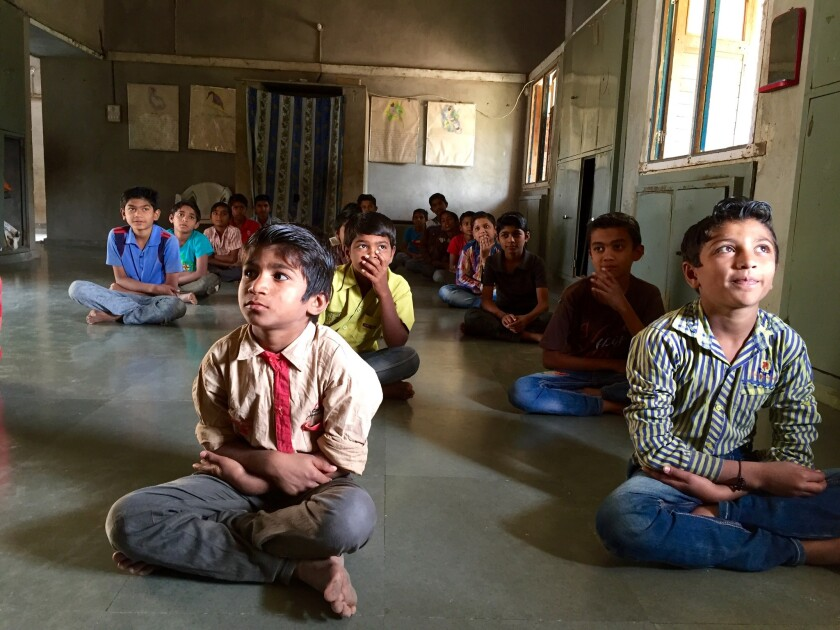 """A school for Dalits, formally called """"untouchables,"""" run by the Navsarjan charity in Rayka, India, could be forced to close this year after the government blocked its funding."""