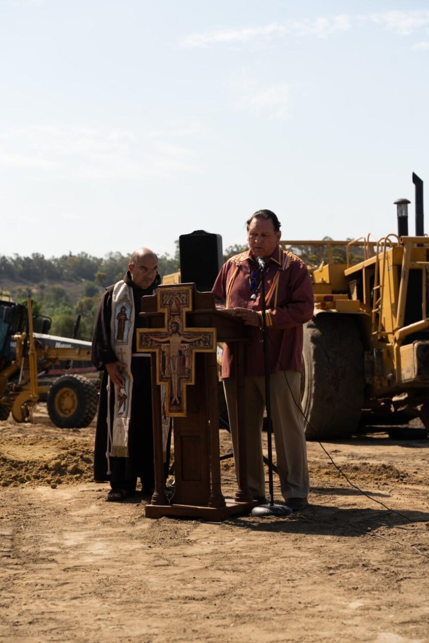 Friar Anthony Garibaldi, trustee and vicar for Hacienda Mission San Luis Rey