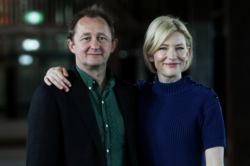 Andrew Upton and Cate Blanchett, pictured in 2011, raised the profile of the Sydney Theatre Company of Australia. The company recently announced Upton is stepping down as artistic director.