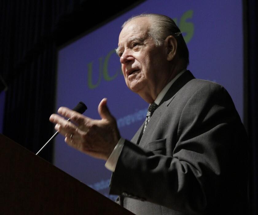 Former California Supreme Court Justice Cruz Reynoso in 2012.