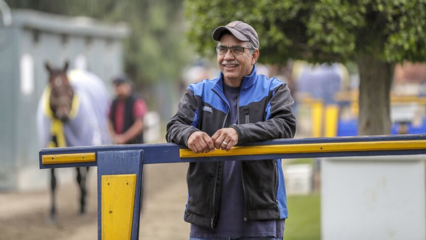 Pascual Rivera has cared for one Triple Crown winner and might have another in Justified.