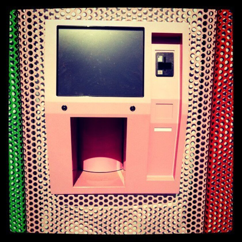 Sprinkles' cupcake-dispensing machine. No launch date has been announced.