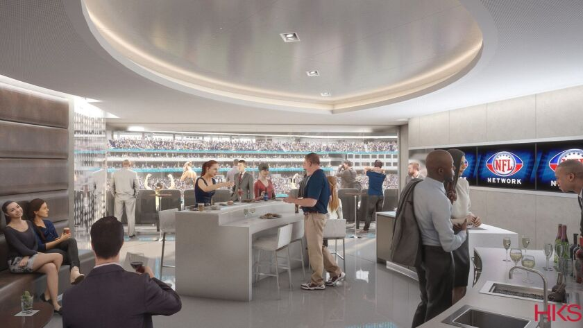 Most of the suites use a simple, modern design built around an uncluttered center island.