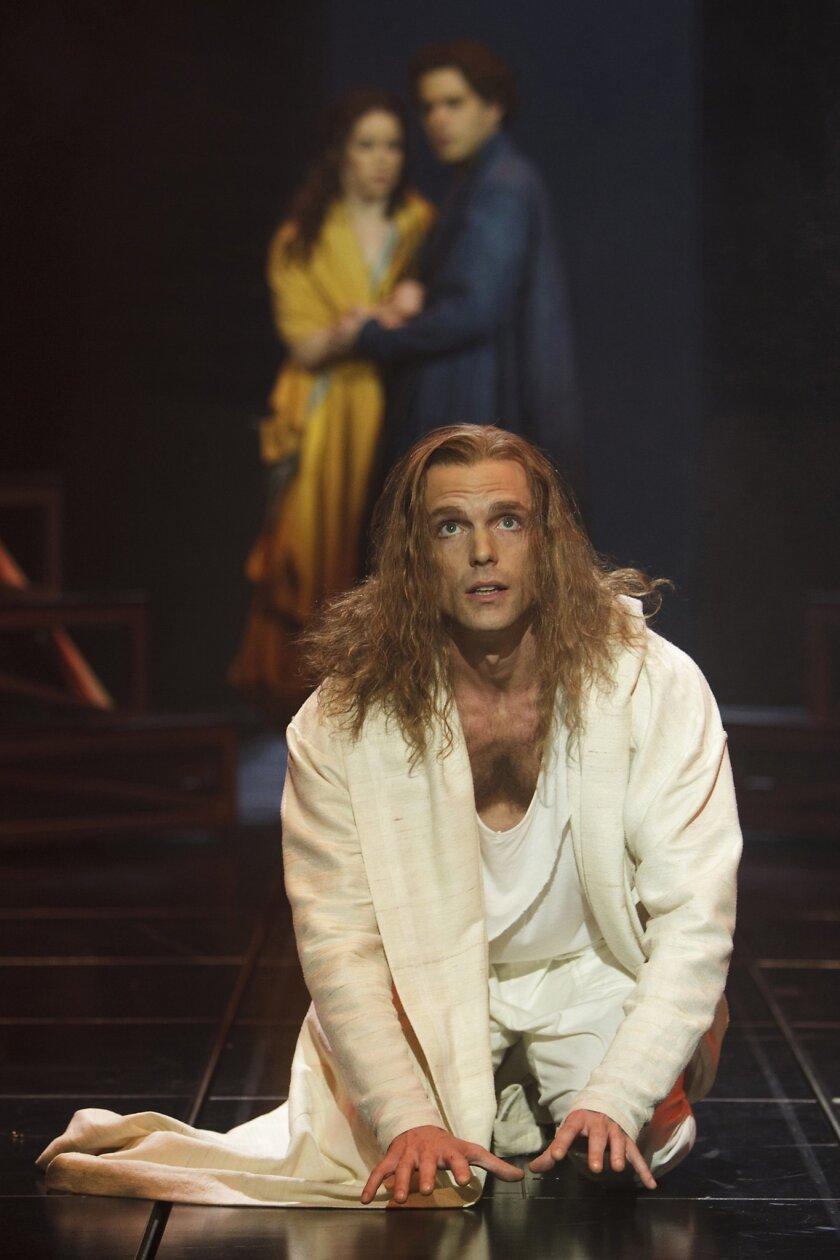Paul Nolan stars as Jesus Christ in the production. Photo David Hou