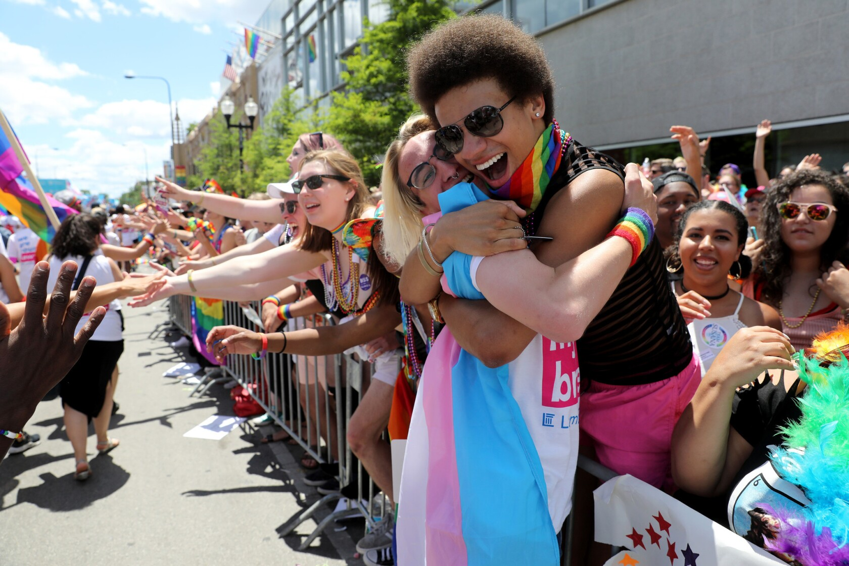 Gay pride parades across the nation sound a note of resistance — and face  some - Los Angeles Times
