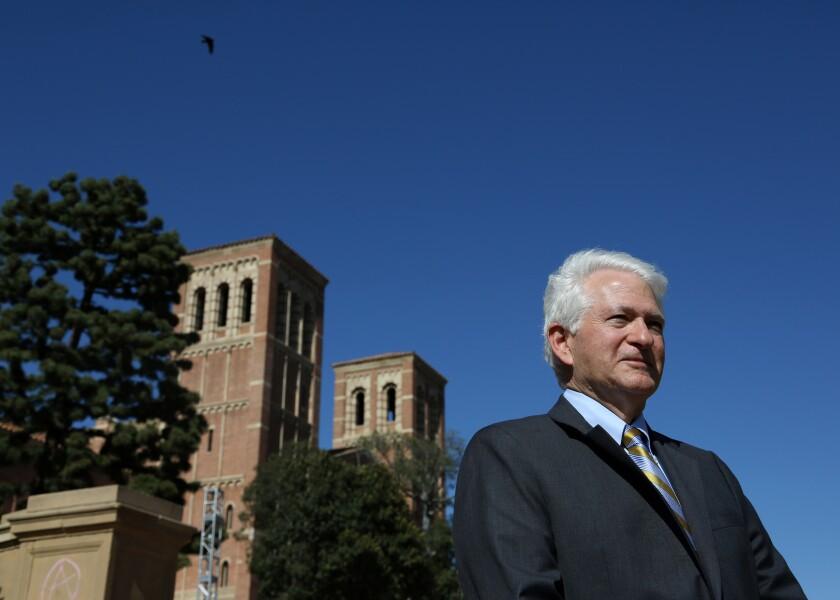 UCLA chancellor Gene Block was a proponent of requiring a course on diversity.