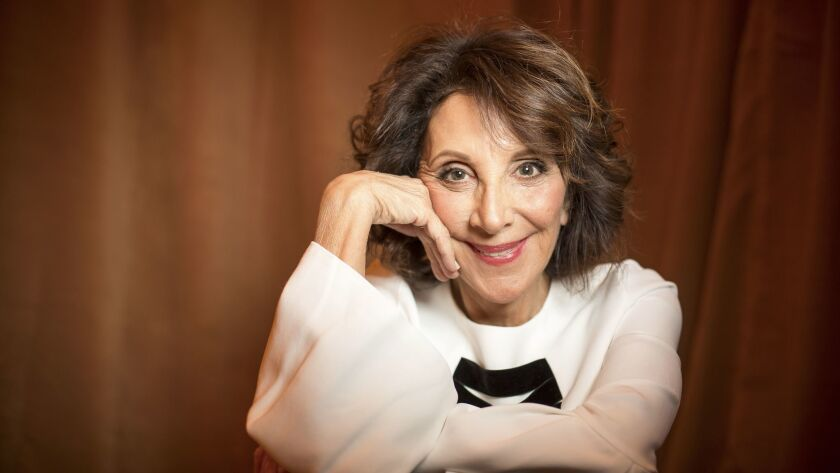 """Actress Andrea Martin, who stars in the new NBC sitcom """"Great News,"""" sits for a portrait on March 02"""