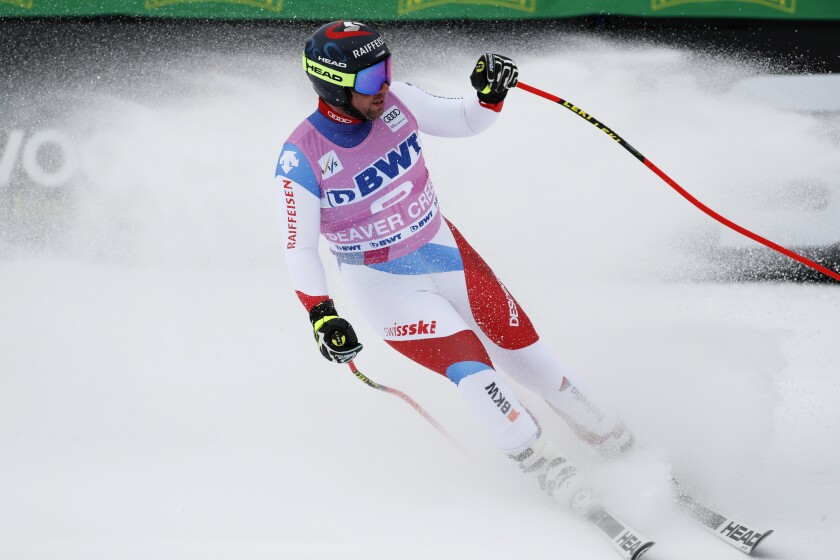 WCUP Mens Downhill Skiing