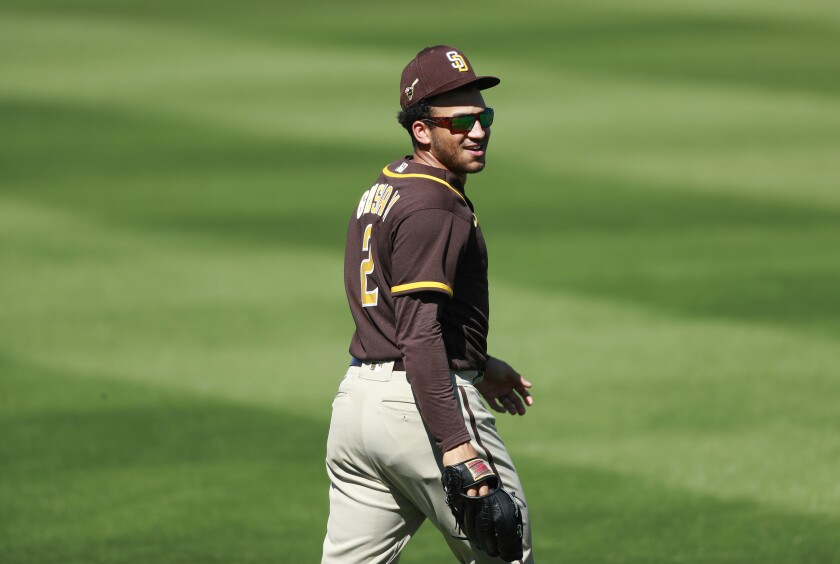 Padres outfielder Trent Grisham