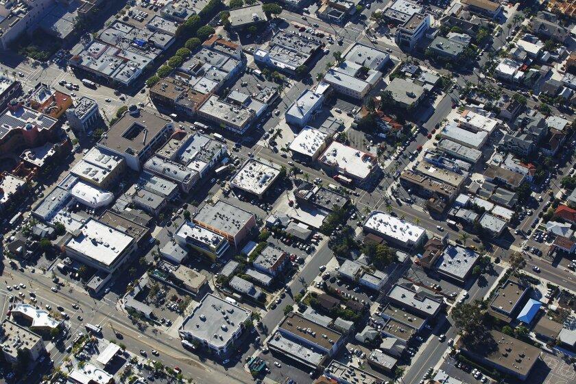The North Park neighborhood of San Diego.