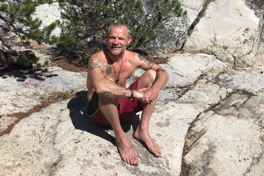 "Flea's new book is ""Acid for the Children."""