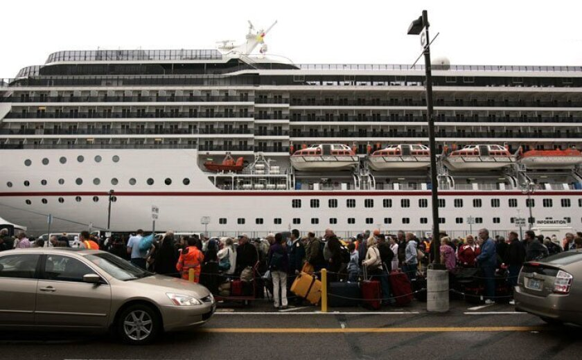 The Carnival Spirit is scheduled to leave San Diego in 2012 for Australia