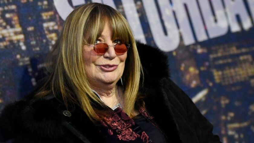 Penny Marshall attends the SNL 40th Anniversary Special in New York on Feb. 15, 2015.