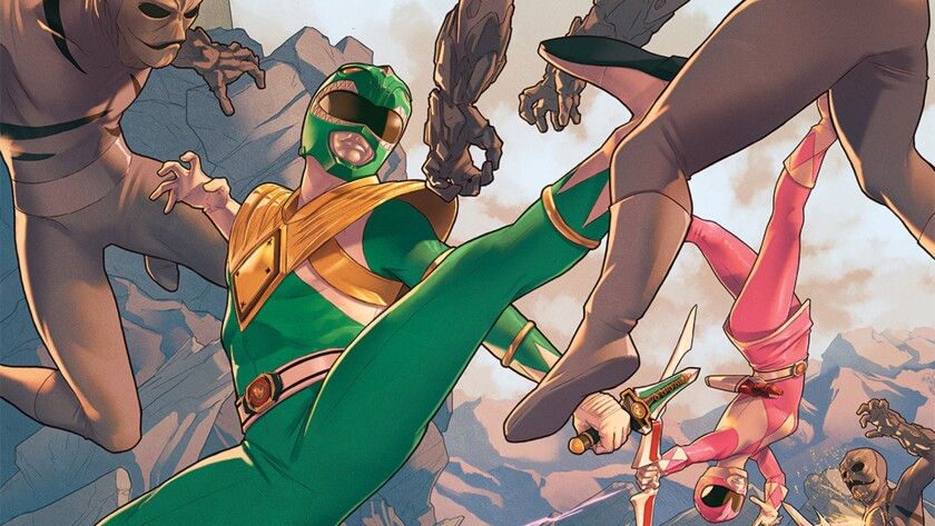 """A new """"Mighty Morphin Power Rangers"""" comic book series kicks off in March."""