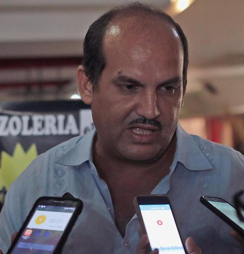 Arturo Gómez Pérez, alcalde asesinado del municipio de Petatlán, Guerrero (México).