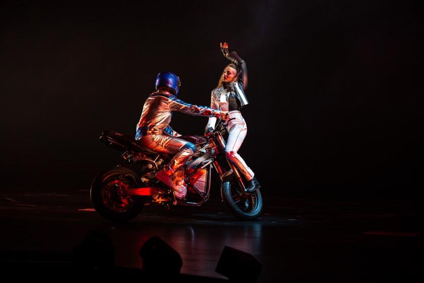"Cirque Du Soleil's new show, ""R.U.N"""