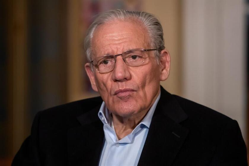 """Veteran American journalist Bob Woodward speaks to EFE during an interview at his home in Washington, DC, USA, on March 6, 2019. Woodward, an investigative reporter, wrote the 2018 book """"Fear: Trump in the White House."""" EPA-EFE/ERIK S. LESSER"""