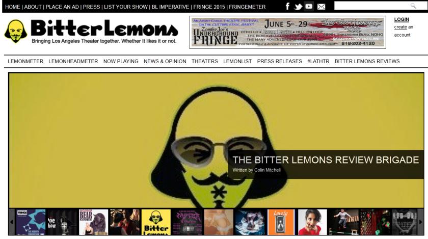 Bitter Lemons