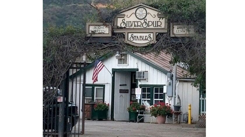 Silver Spur Stables are located near the Burbank-Glendale border and is a center for the equestrian