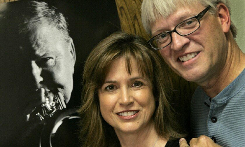 """DEVOTED: Penny Peyser and Doug McIntyre self-financed their documentary """"Trying to Get Good: The Jazz Odyssey of Jack Sheldon,"""" about the accomplished but overlooked trumpeter."""