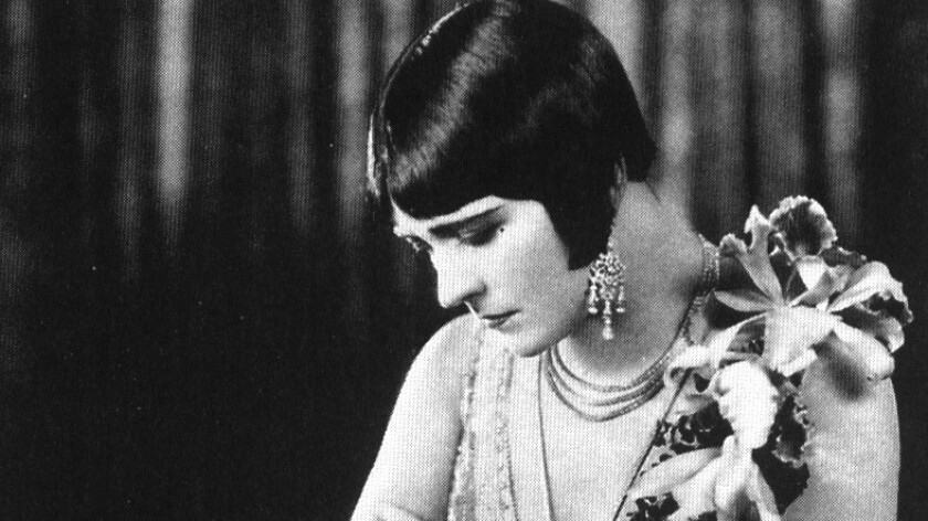 """Pola Negri in 1925's """"A Woman of the World."""""""