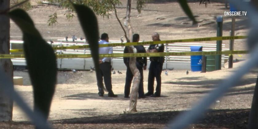 San Diego police and the San Diego County Medical Examiner's Office were investigating the death of a man whose body was found Monday in Chollas Reservoir in San Diego's Oak Park neighborhood.