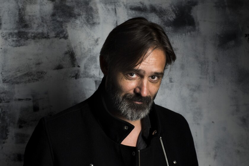 """Baltasar Kormakur, pictured in the L.A. Times photo studio at this month's Toronto International Film Festival, is the director of """"Everest."""""""