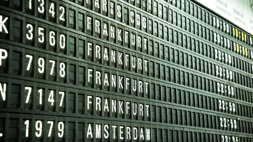 Airlines are running out of four-digit numbers for flight designations, but their computer systems are hard-coded for no more than four digits.