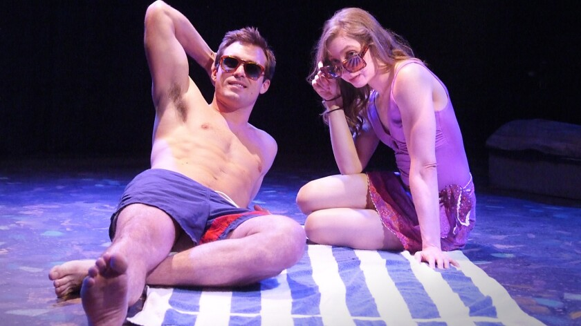 """Becket (Hunter Garner) and his fraternal twin Emily (Rachel Seiferth) in """"Please Don't Ask About Becket."""""""