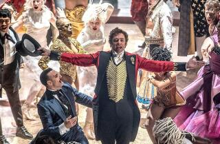 """The Greatest Showman"" review by Justin Chang"