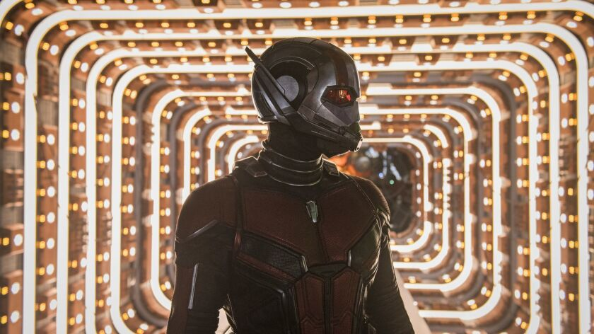 Marvel Studios ANT-MAN AND THE WASP: Ant-Man/Scott Lang (Paul Rudd) in in ANT-MAN AND THE WASP mov