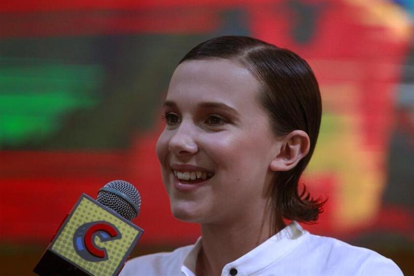 Unicef anunció el nombramiento como embajadora de buena voluntad de la actriz británica Millie Bobby Brown, que con 14 años se convertirá en la persona más joven en ocupar ese puesto. EFE/Archivo