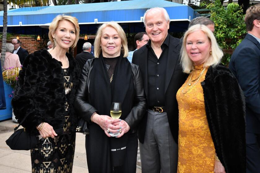 Leah Swearingen, Joyce Glazer and Ray Riley, Kathy Paulin